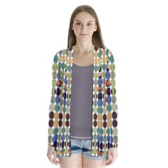 Retro Pattern Abstract Cardigans