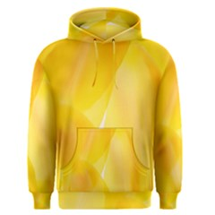 Yellow Pattern Painting Men s Pullover Hoodie