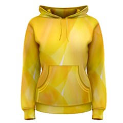 Yellow Pattern Painting Women s Pullover Hoodie