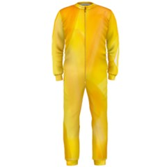 Yellow Pattern Painting Onepiece Jumpsuit (men)