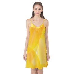 Yellow Pattern Painting Camis Nightgown