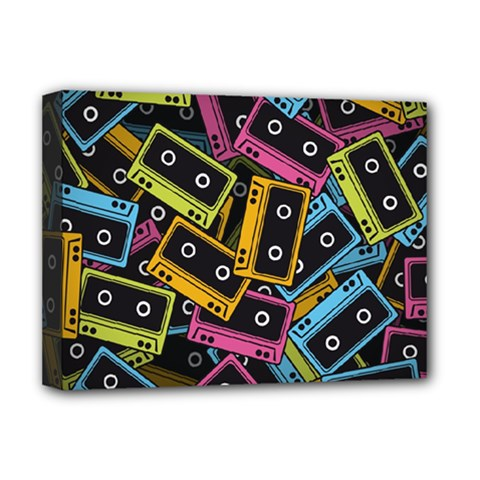 Type Pattern Deluxe Canvas 16  x 12