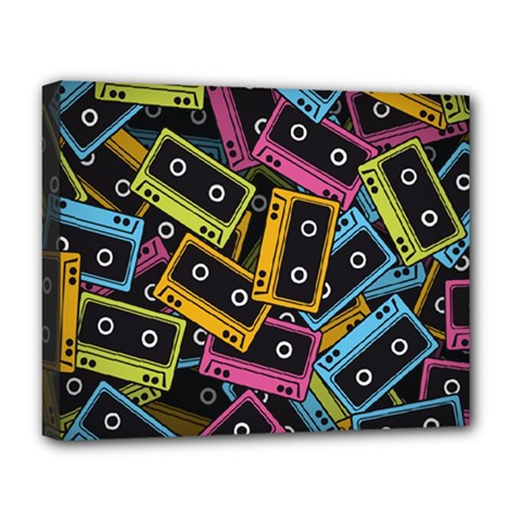 Type Pattern Deluxe Canvas 20  X 16