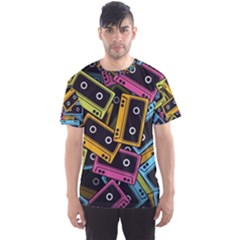 Type Pattern Men s Sport Mesh Tee