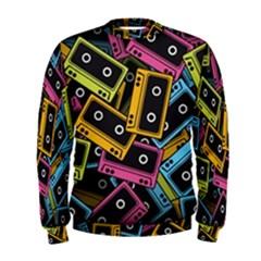 Type Pattern Men s Sweatshirt