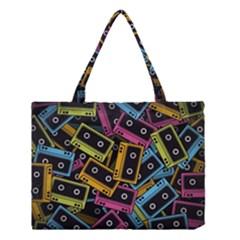 Type Pattern Medium Tote Bag