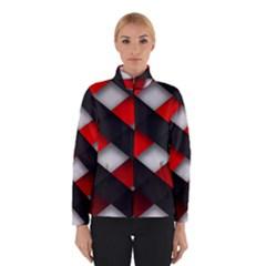 Red Textured Winterwear