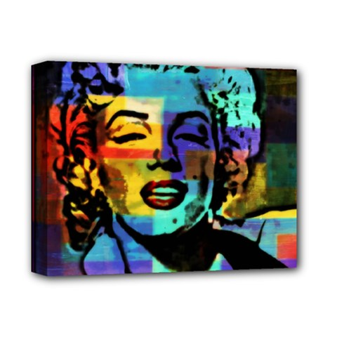 MARILYN ICONIC   Deluxe Canvas 14  x 11  (Framed)