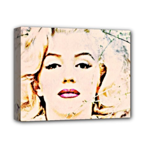 marilyn  Pastel Deluxe Canvas 14  X 11  (framed)