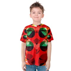 Abstract Digital Design Kids  Cotton Tee