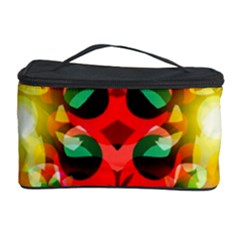 Abstract Digital Design Cosmetic Storage Case