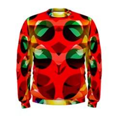 Abstract Digital Design Men s Sweatshirt