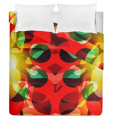 Abstract Digital Design Duvet Cover Double Side (queen Size)