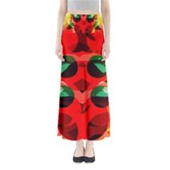 Abstract Digital Design Maxi Skirts