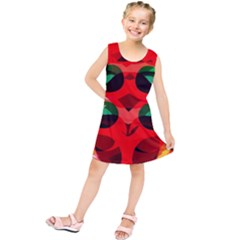 Abstract Digital Design Kids  Tunic Dress