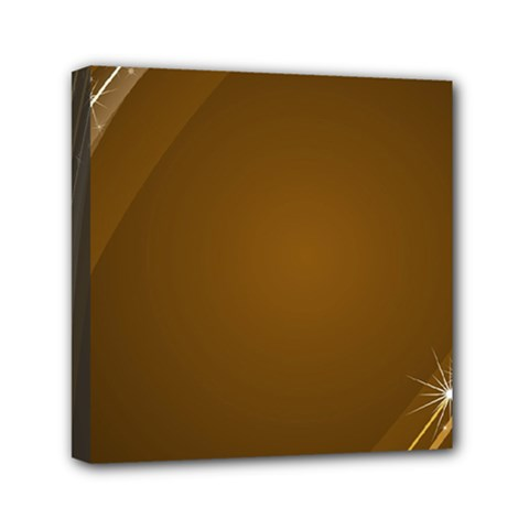 Abstract Background Mini Canvas 6  X 6