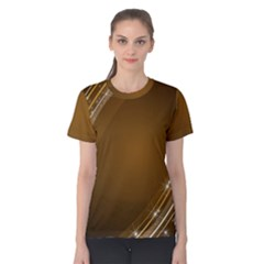 Abstract Background Women s Cotton Tee