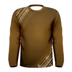 Abstract Background Men s Long Sleeve Tee