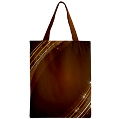 Abstract Background Zipper Classic Tote Bag