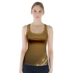Abstract Background Racer Back Sports Top