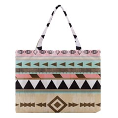 Colorful bohemian Medium Tote Bag