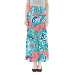 Map Maxi Skirts