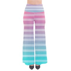 Colorful vertical lines Pants