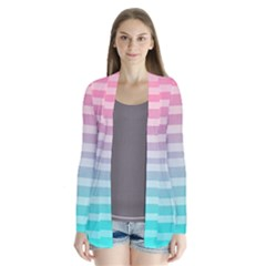 Colorful vertical lines Cardigans