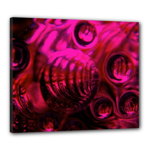 Abstract Bubble Background Canvas 24  X 20