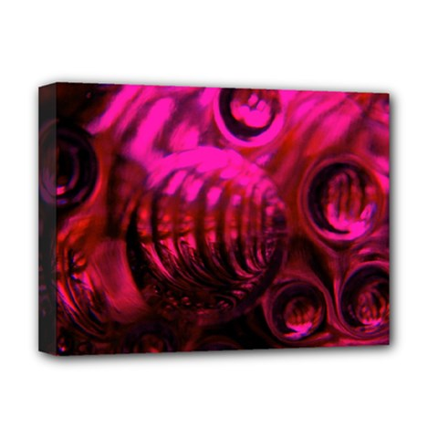 Abstract Bubble Background Deluxe Canvas 16  X 12