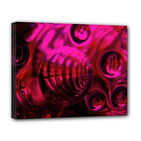 Abstract Bubble Background Deluxe Canvas 20  X 16