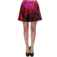 Abstract Bubble Background Skater Skirt
