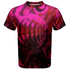 Abstract Bubble Background Men s Cotton Tee