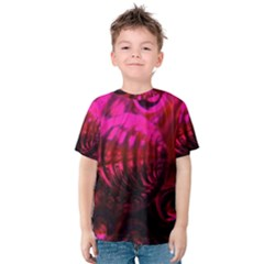Abstract Bubble Background Kids  Cotton Tee