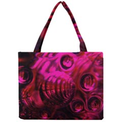 Abstract Bubble Background Mini Tote Bag