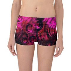 Abstract Bubble Background Reversible Bikini Bottoms