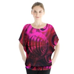Abstract Bubble Background Blouse