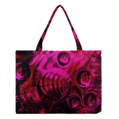 Abstract Bubble Background Medium Tote Bag