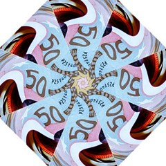Abstract Currency Background Straight Umbrellas