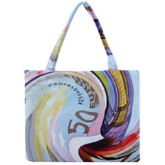 Abstract Currency Background Mini Tote Bag