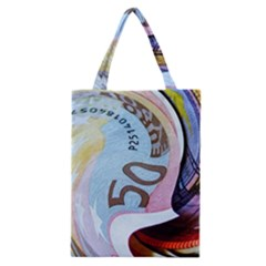 Abstract Currency Background Classic Tote Bag