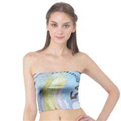 Abstract Currency Background Tube Top