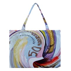 Abstract Currency Background Medium Tote Bag