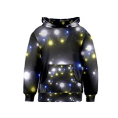 Abstract Dark Spheres Psy Trance Kids  Pullover Hoodie