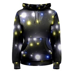 Abstract Dark Spheres Psy Trance Women s Pullover Hoodie