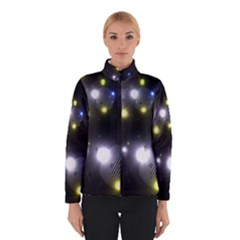 Abstract Dark Spheres Psy Trance Winterwear