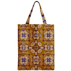 Abstract Elegant Background Card Zipper Classic Tote Bag