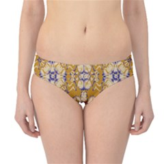 Abstract Elegant Background Card Hipster Bikini Bottoms