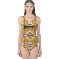 Abstract Elegant Background Card One Piece Swimsuit