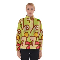 Abstract Faces Abstract Spiral Winterwear